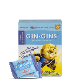 The Ginger People Gin Gins Ginger Candy Super Strength 84g
