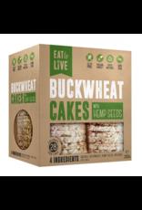 Eat to Live Buckwheat Cakes with Hemp Seeds 200g