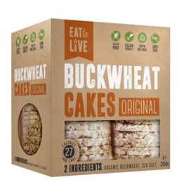 Eat to Live Buckwheat Cakes Original 200g
