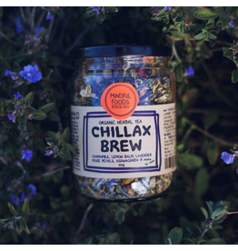 Mindful Foods Chillax Brew Organic Herbal Tea 60g Jar