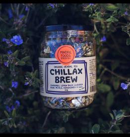 Mindful Foods Chillax Brew Organic Herbal Tea 60g Jar
