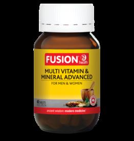 Fusion Multi Vitamin Mineral Advanced 60t