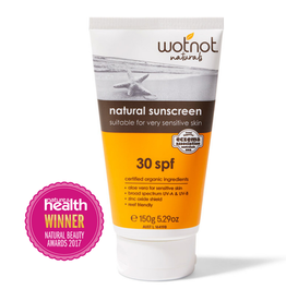 Wotnot Sunscreen - Sensitive Skin SPF 30+ 150g
