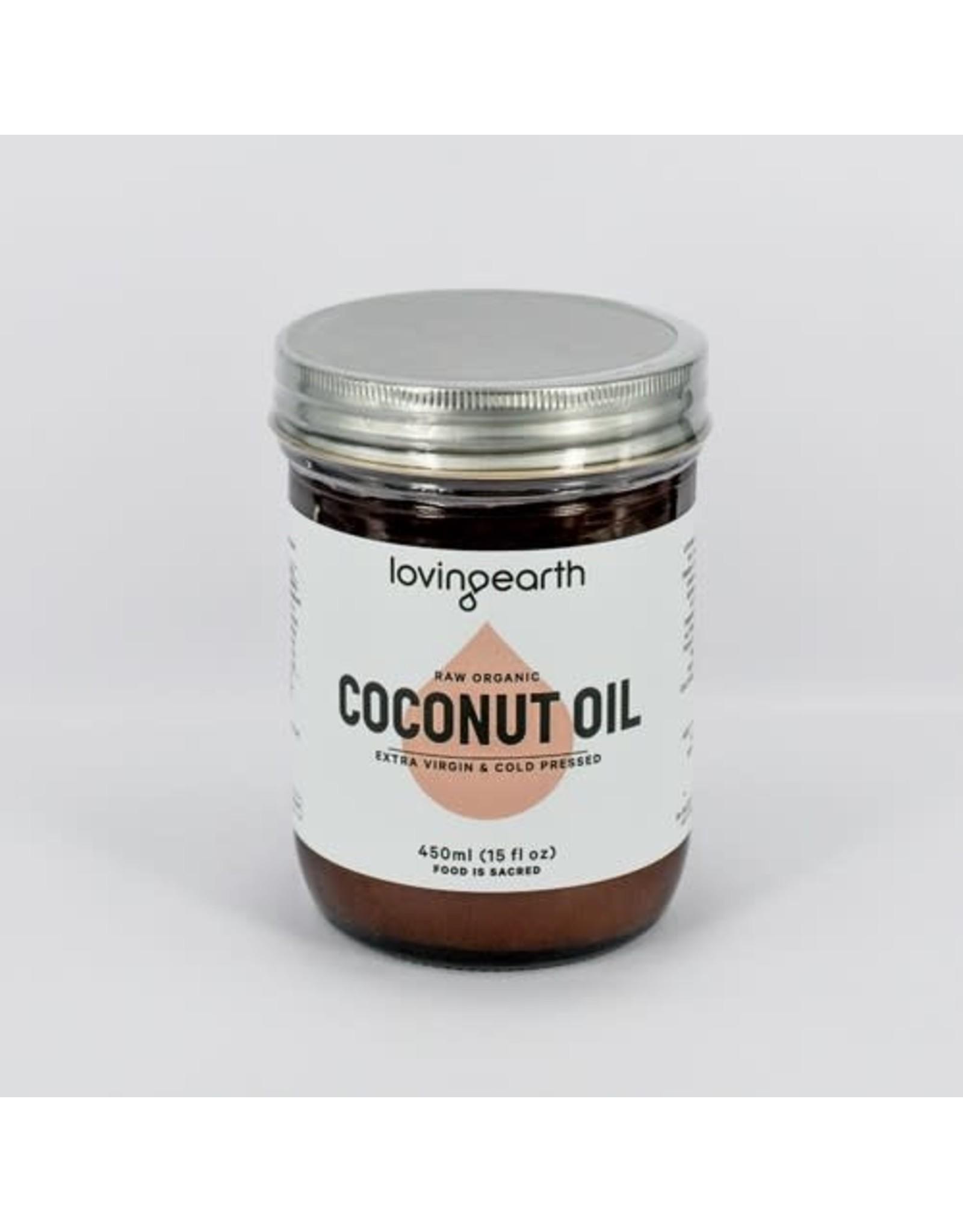 Loving Earth Coconut Oil 450g
