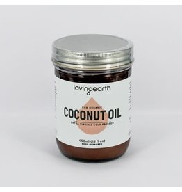 Loving Earth Coconut Oil 450g