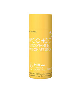 Woohoo Deodorant & Anti-Chafe Stick Mellow (Sensitive) 60g