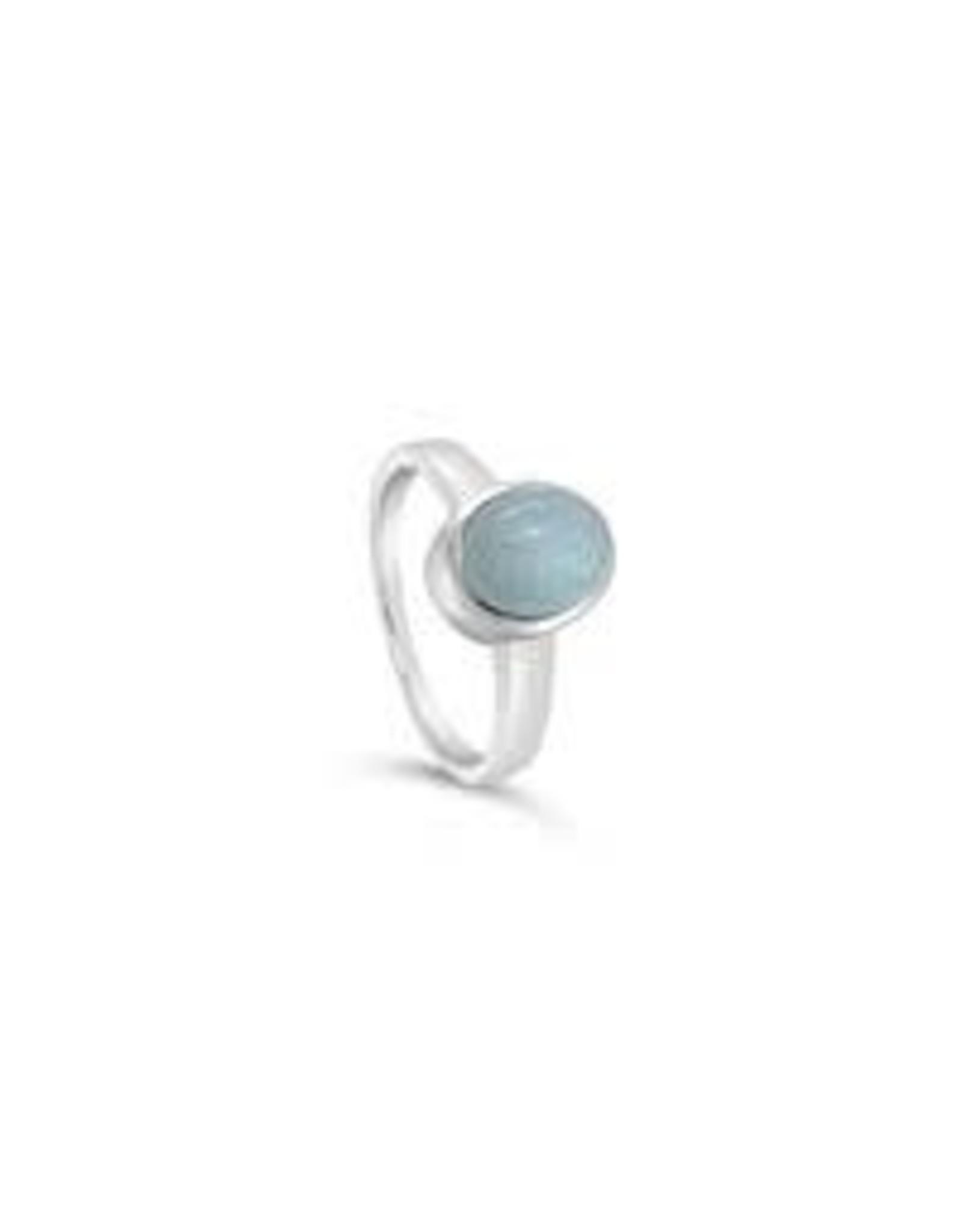Stones & Silver Aquamarine Ring
