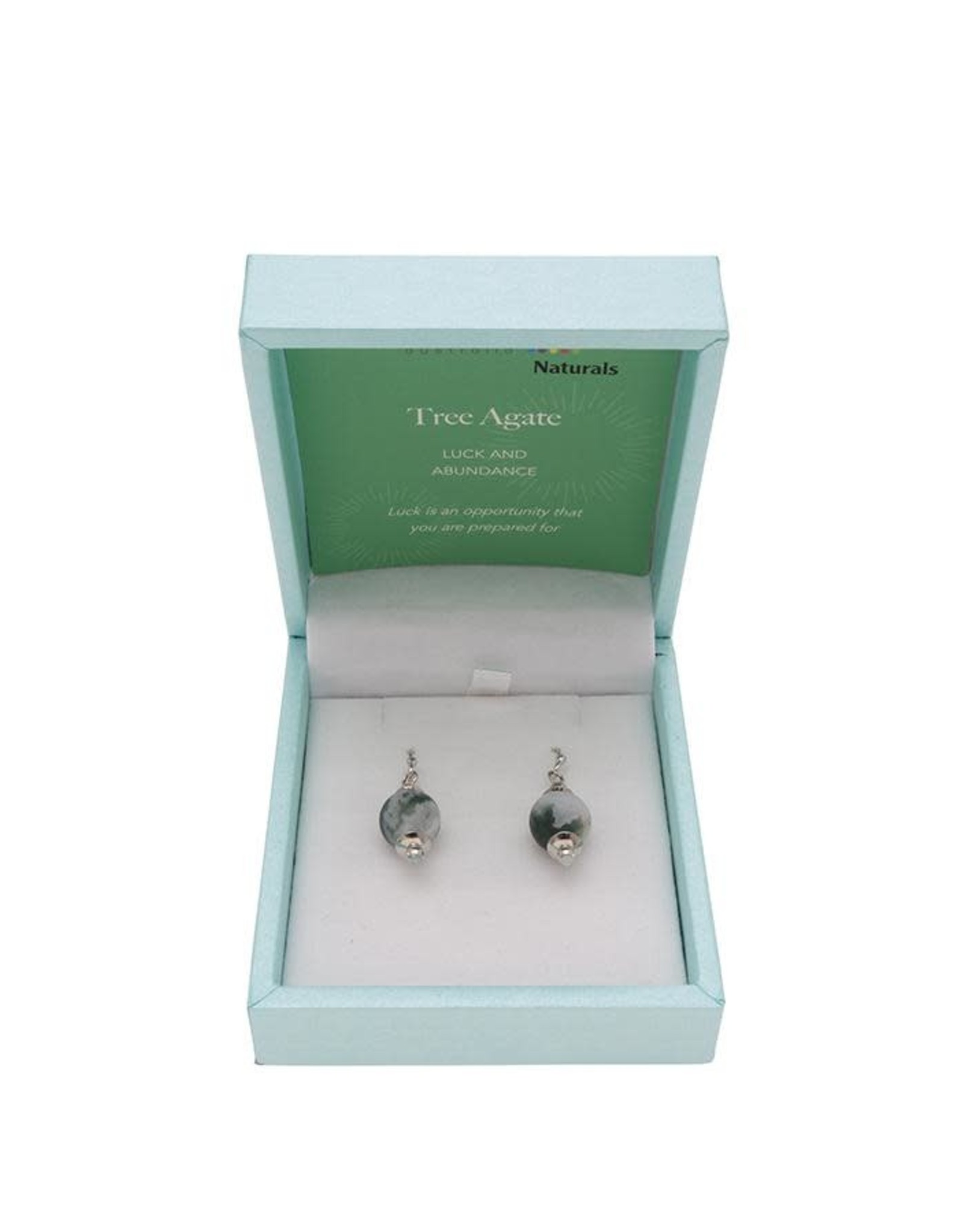 Bramble Bay & Co Crystal Carvings Natural Earrings
