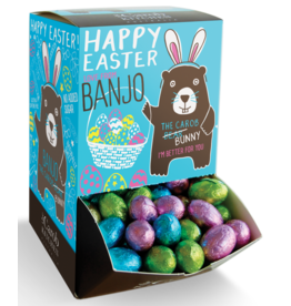 The Carob Kitchen Banjo Carob Easter Egg 7.5g