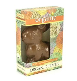 Organic Times Organic Milk Chocolate Easter Bunny 70gm