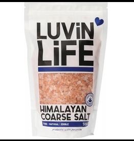 Luvin Life Himalayan Salt Coarse 500g