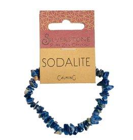 Silverstone Crystal Chip Bracelet - Sodalite - Eco Range