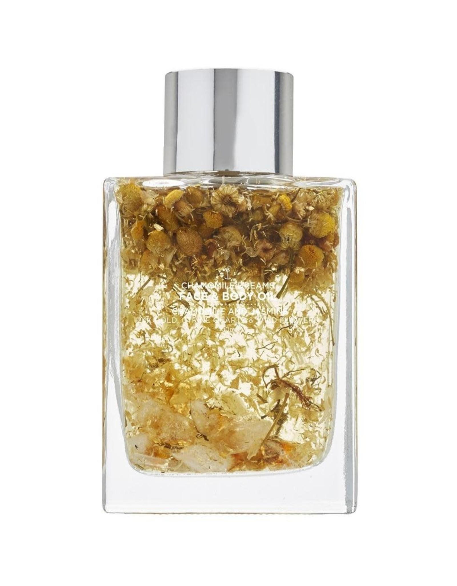 Summer Salt Body Face & Body Oil with 24k Gold 100ml
