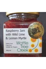 Wattle Tree Creek Raspberry Jam with Wild Lime & Lemon Myrtle 200g