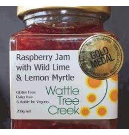 Wattle Tree Creek Raspberry Jam with Wild Lime & Lemon Myrtle 200g