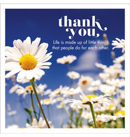 Affirmations Publishing House Thank You Greeting Card