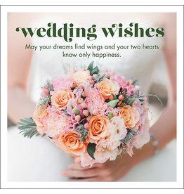 Affirmations Publishing House Wedding Wishes Greeting Card