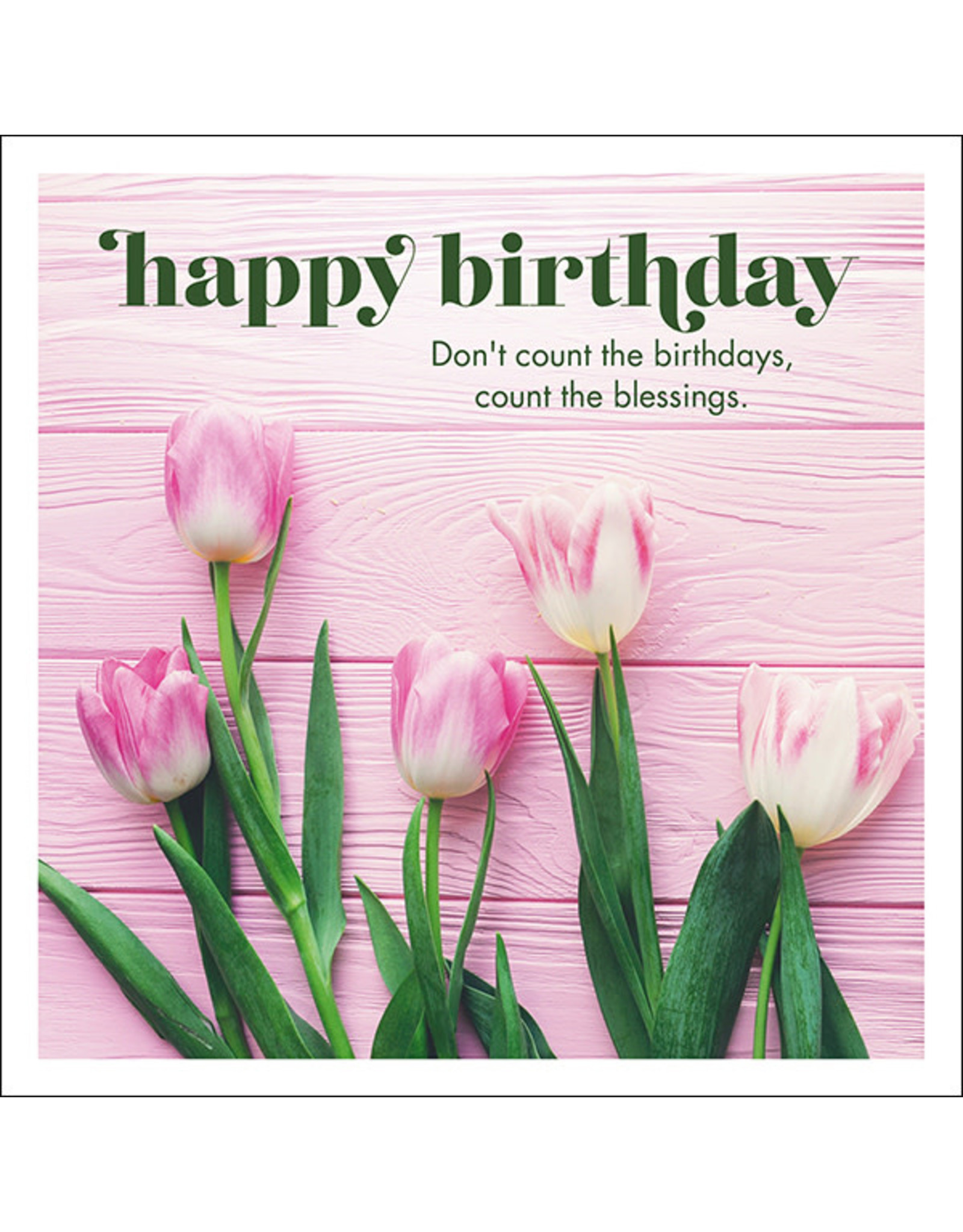 Affirmations Publishing House Happy Birthday Greeting Card