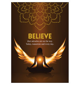 Affirmations Publishing House Believe Greeting Card