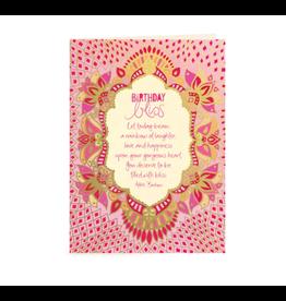 Intrinsic Birthday Bliss Greeting Card