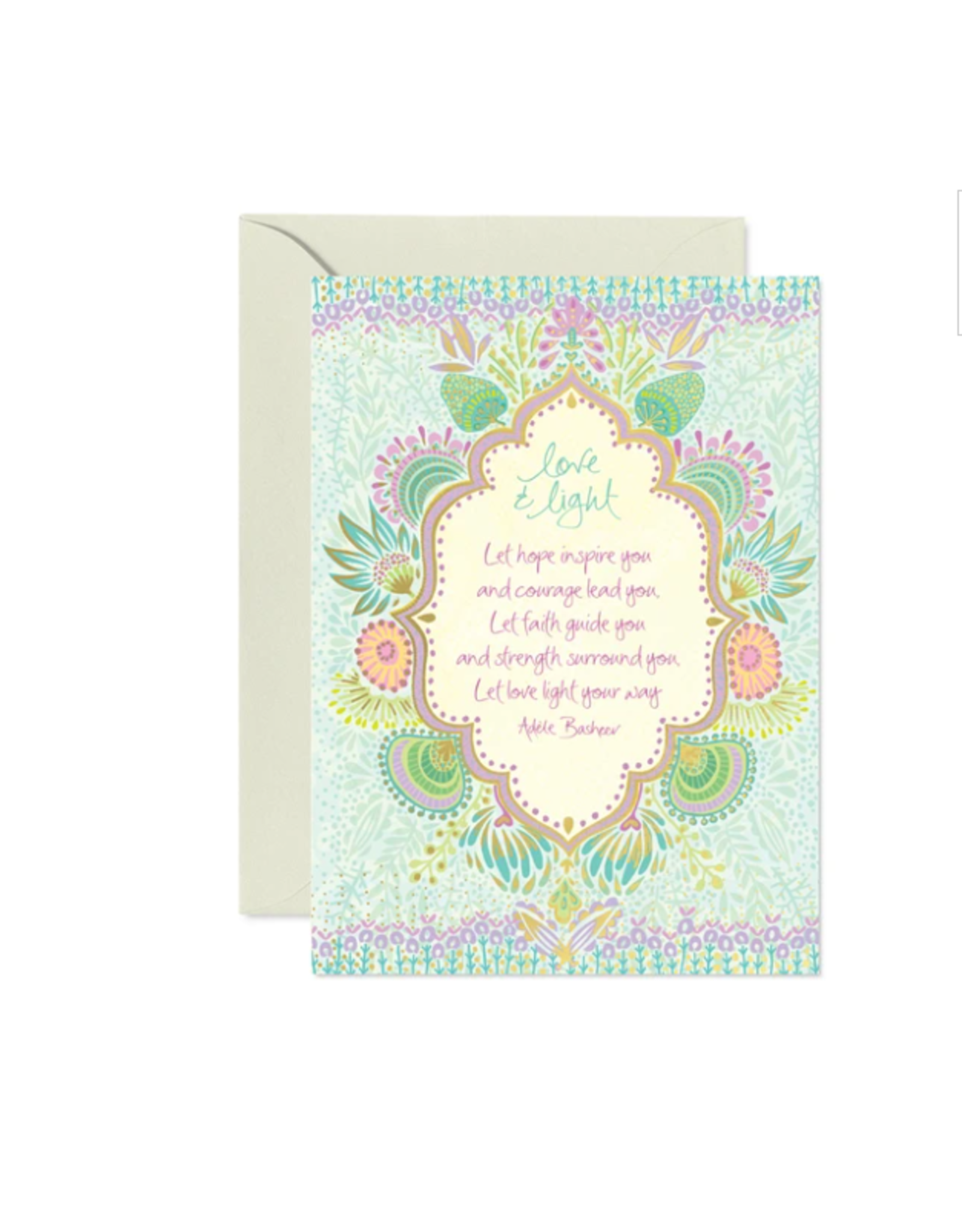 Intrinsic Love and Light Greeting Card