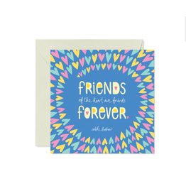 Intrinsic Friends Forever Greeting Card