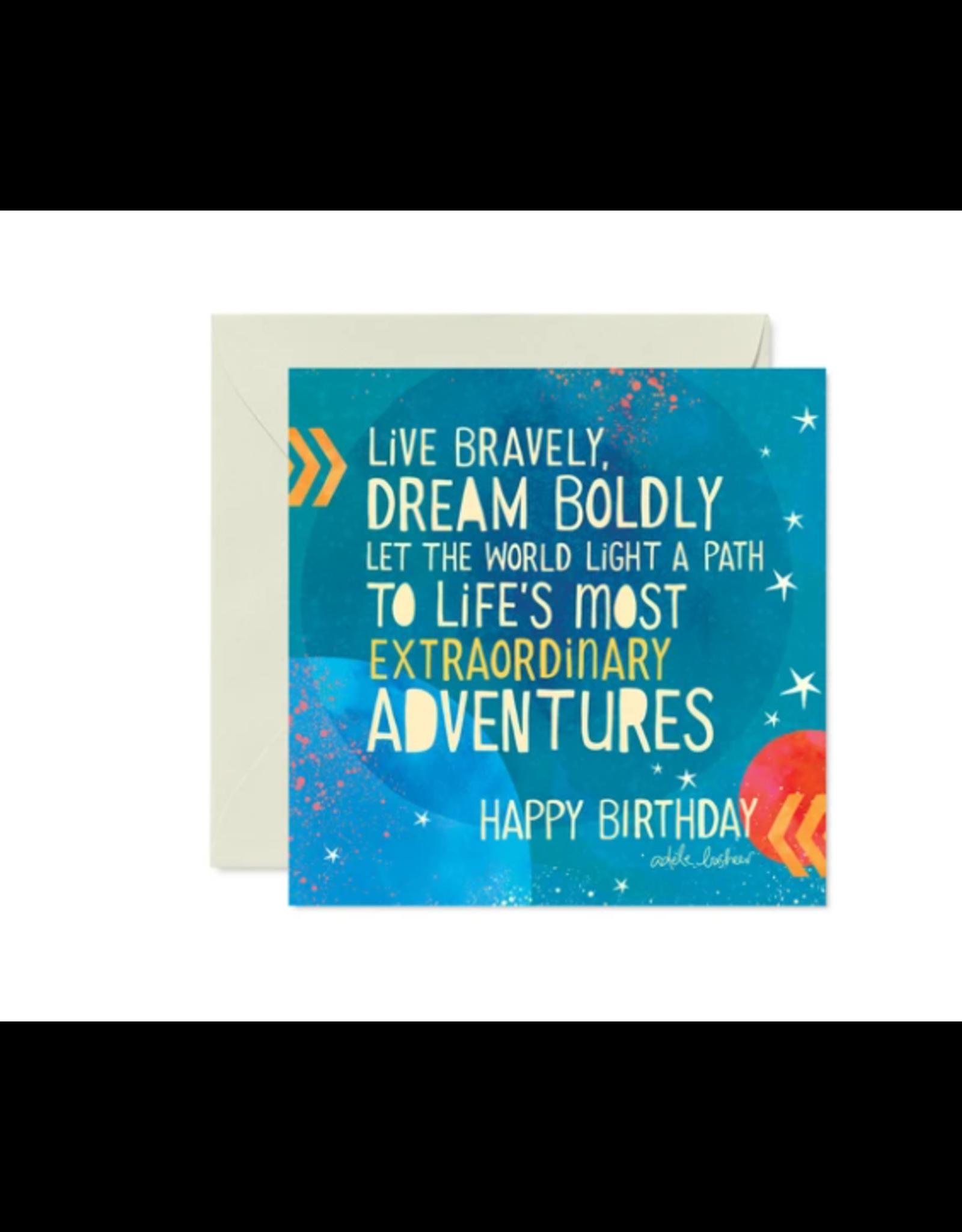 Intrinsic Birthday Adventures Greeting Card