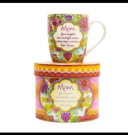 Intrinsic Mums Bloom  Mug
