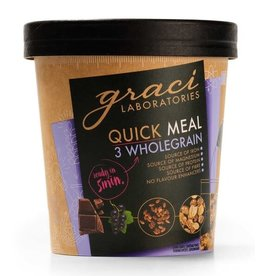 Graci Quick Meal Cup - 3 Wholegrain - 75g