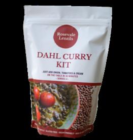 Rosevale Lentils Dahl Curry Kit 220g