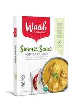 Waah Organics Simmer Sauce - Korma Curry - 300g