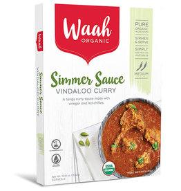 Waah Organics Simmer Sauce - Vindaloo Curry - 300g