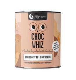 NutraOrganics Choc Whiz (Brain Boosting & Gut Loving) 250g