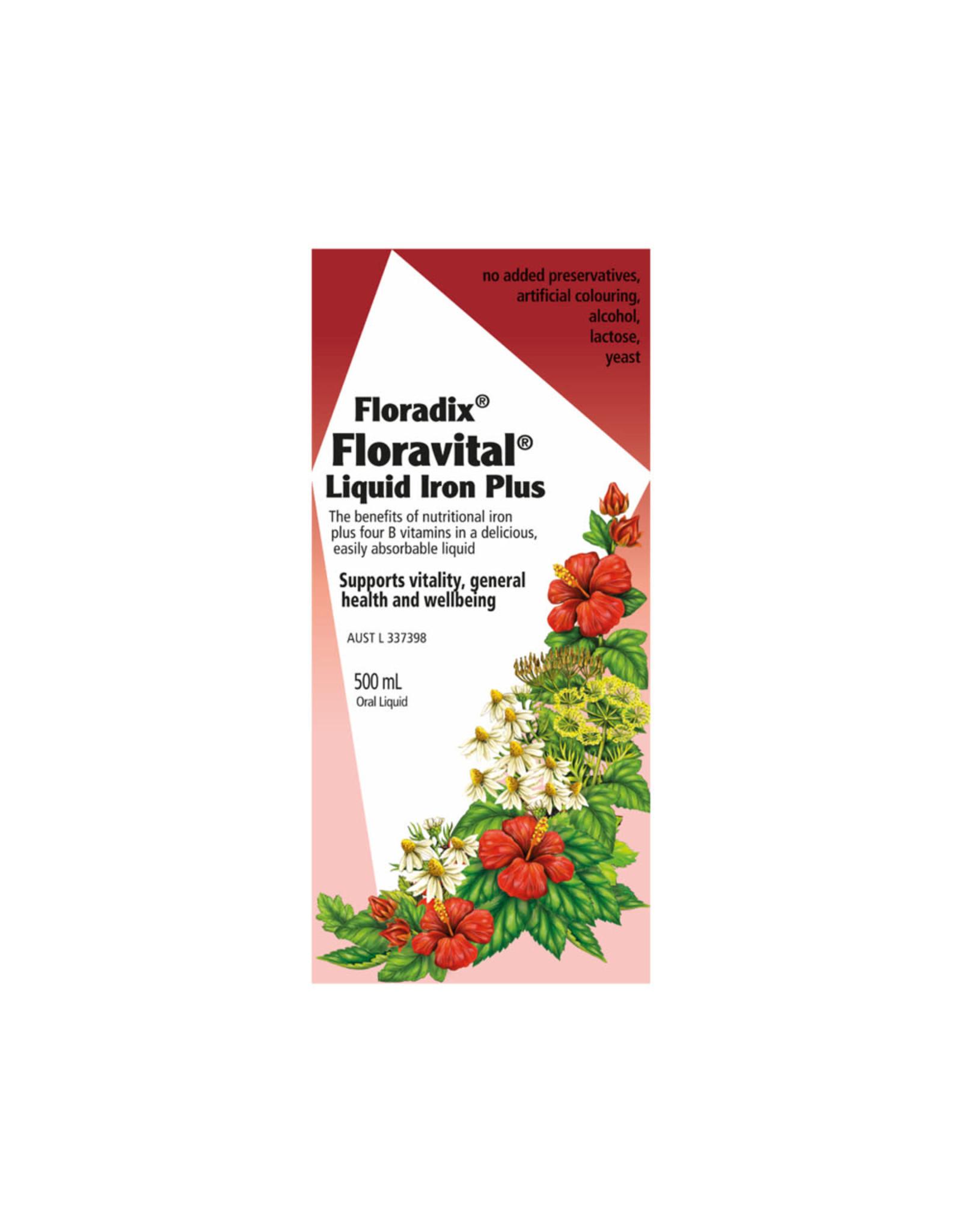 Floradix Floravital Liquid Iron Plus 500ml