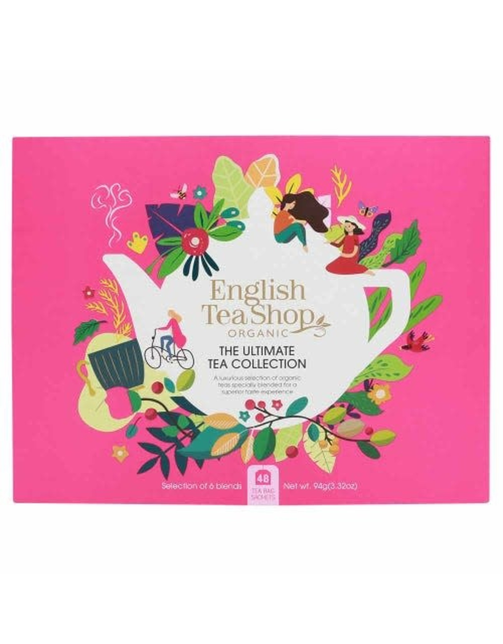 English Tea Shop Gift Pack The Ultimate Tea Collection Pink 48 sachets