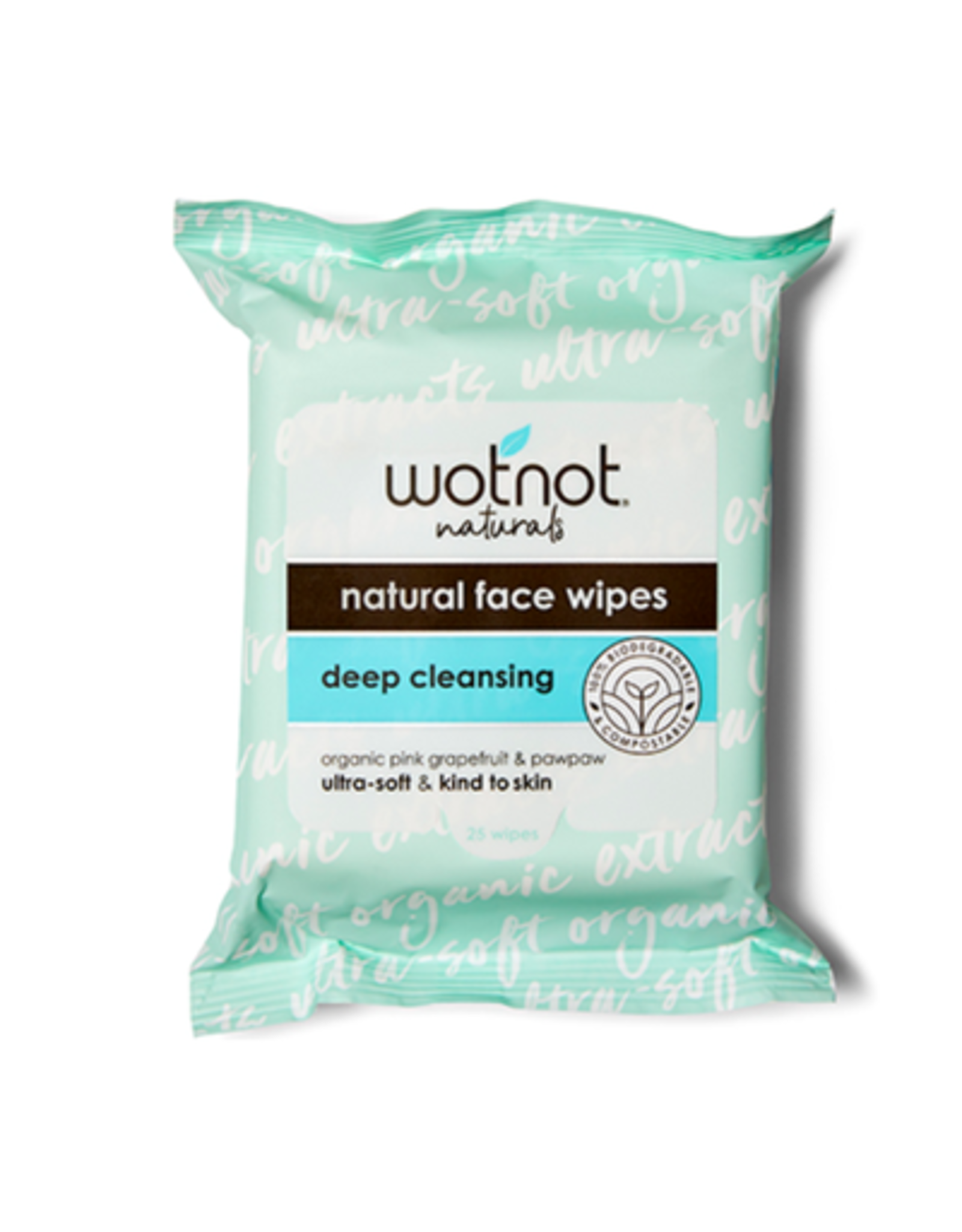 Wotnot Deep Cleansing Facial Wipes 25s