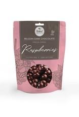 Naked Chocolate Co Dark Chocolate Freeze Dried Raspberries 100g