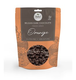 Naked Chocolate Co Freeze Dried Orange Dark Chocolate 100g