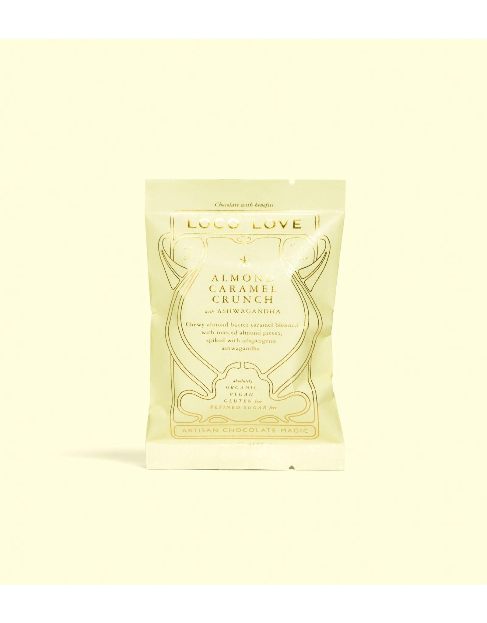 Loco Love Almond Caramel Crunch with Ashwaghanda 30g