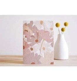Hello Petal Posey Blooming Card