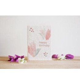 Hello Petal Happy Birthday Blooming Card