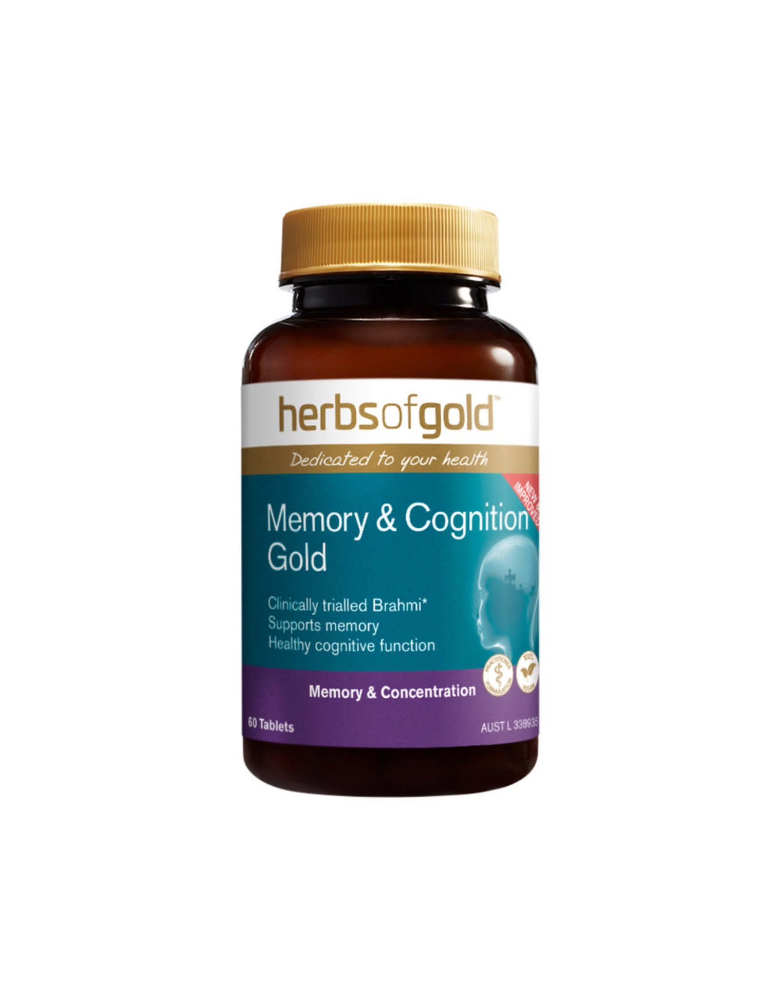 Herbs of Gold Memory & Cognition Gold 60t