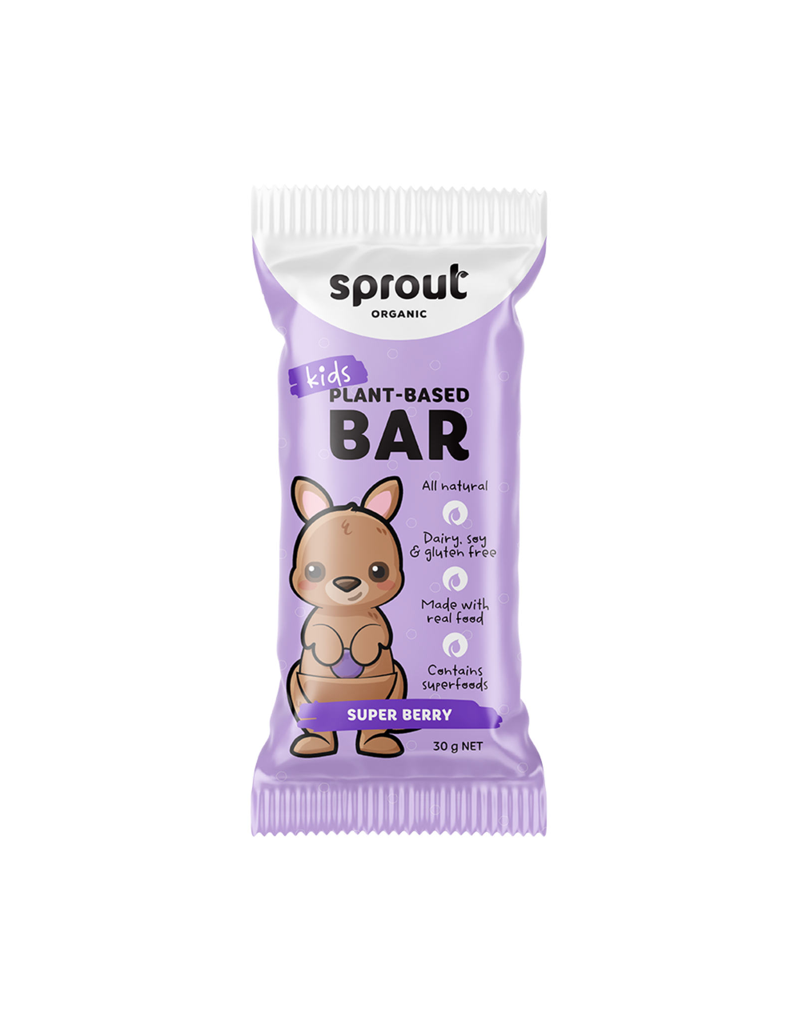 Sprout Organic Super Berry Kids Bar 30g