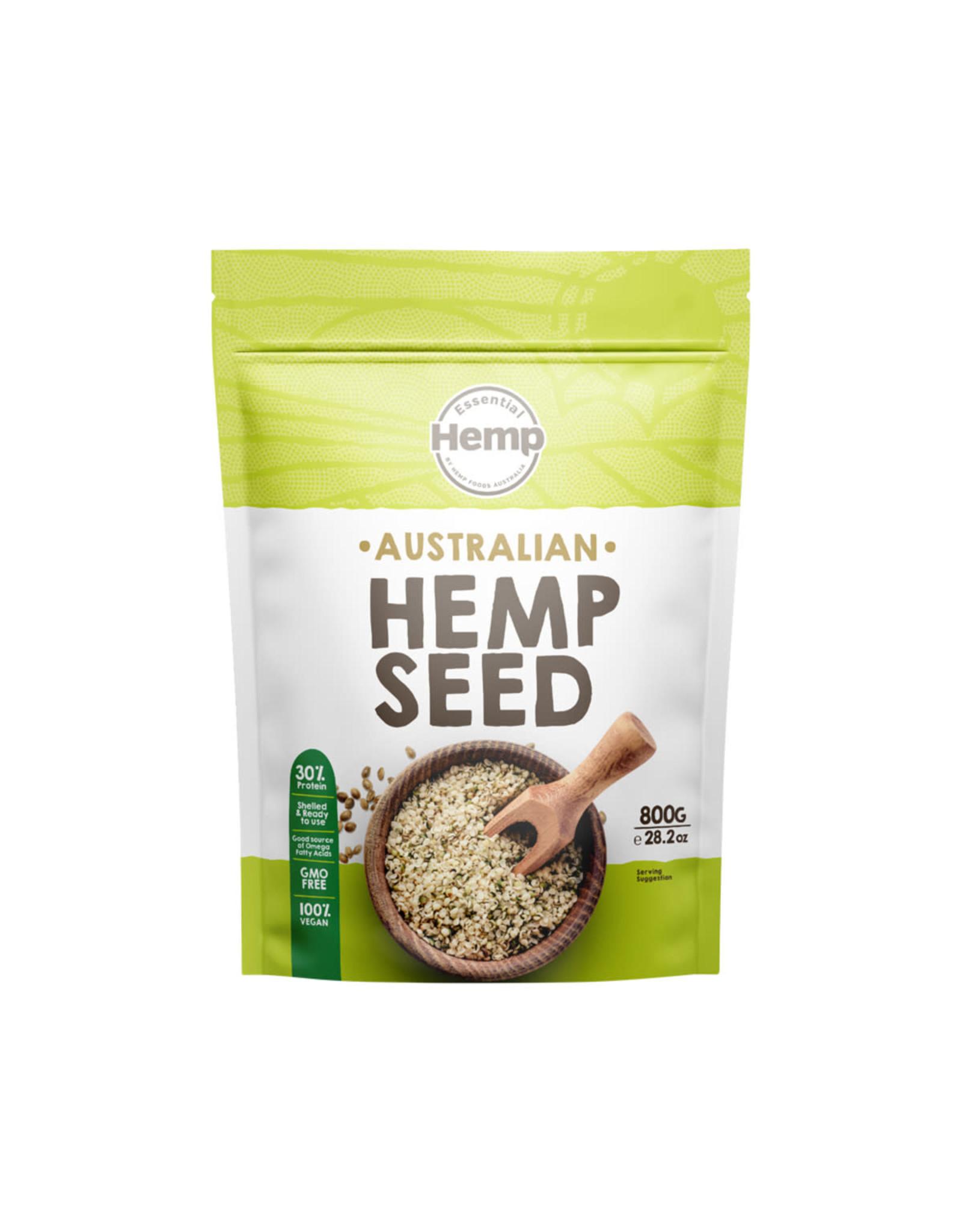 Essential Hemp Australian Grown Hemp Seeds 800g