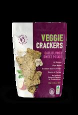 Back to Basics Cauliflower and Sweet Potato Veggie Crackers 45gm
