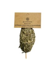 Silverstone Australian White Sage & Frankincense Smudge Stick