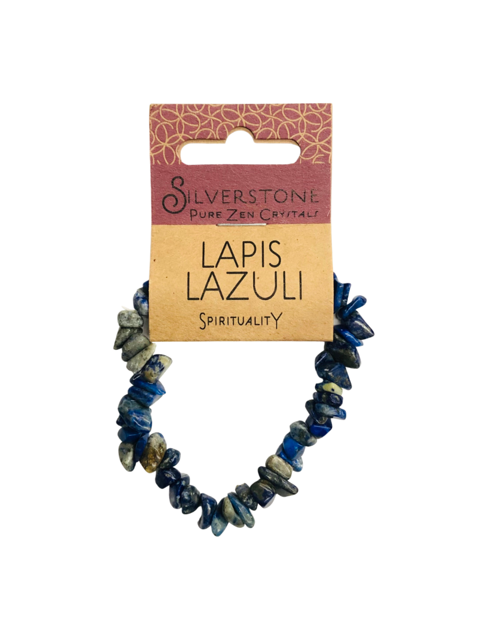 Silverstone Crystal Chip Bracelet - Lapis Lazuli - Eco Range