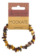 Silverstone Crystal Chip Bracelet - Mookaite - Eco Range