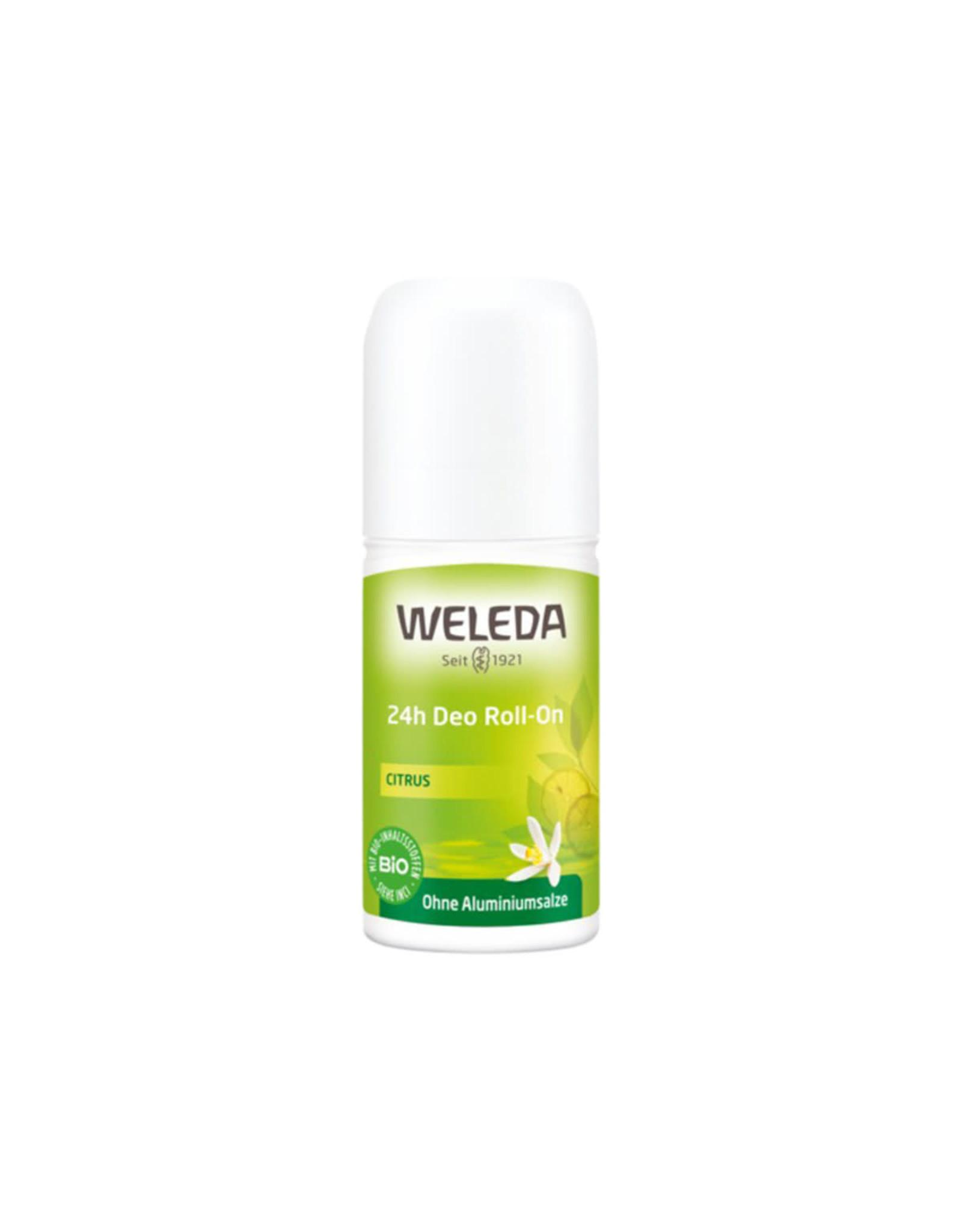 Weleda 24hr Roll-On Deodorant Citrus 50ml
