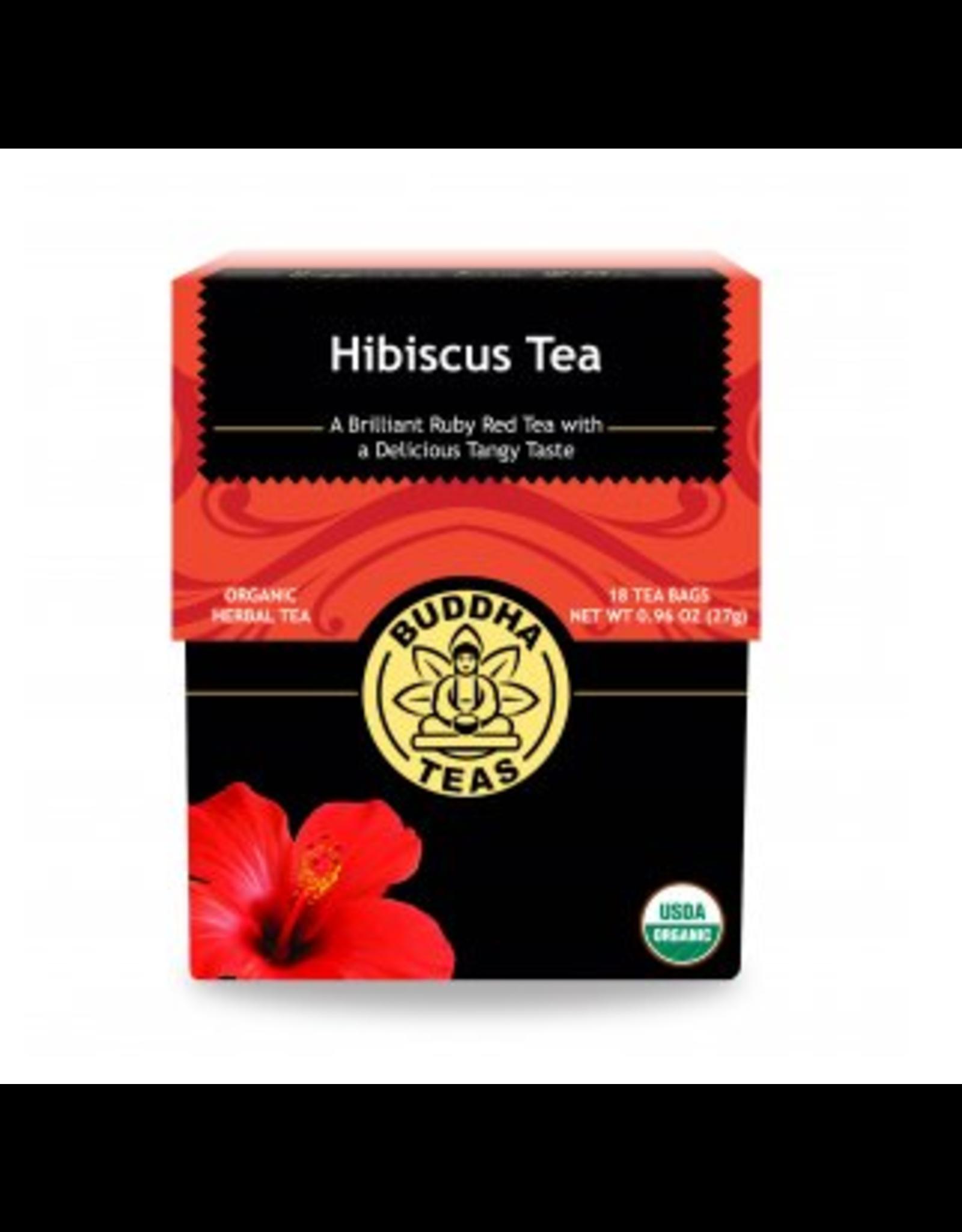 Buddha Teas Hibiscus Tea x 18 Tea Bags